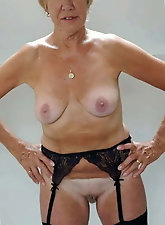 Topless mature cougars for any taste